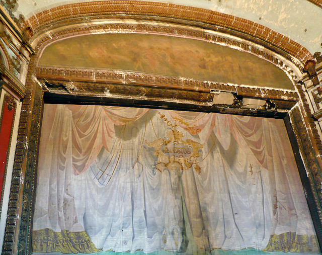 Lyric Theater, Birmingham, AL, asbestos curtain