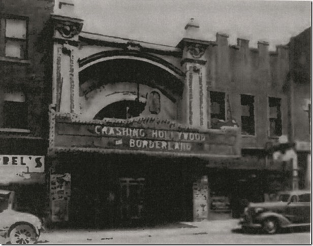 "LIBERTY Theatre, Springfield, Ohio just before 1938 ""remodeling""."