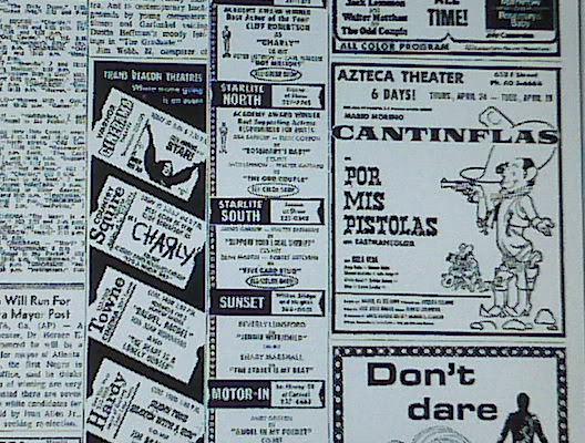 Azteca Theater Ad