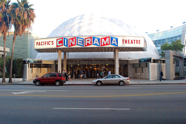 Pacific's Cinerama Theatre