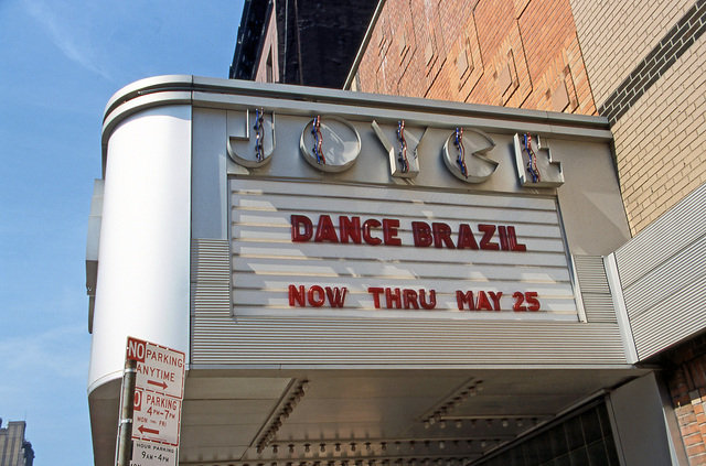 Joyce Theater Marquee