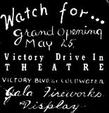 pre opening ad