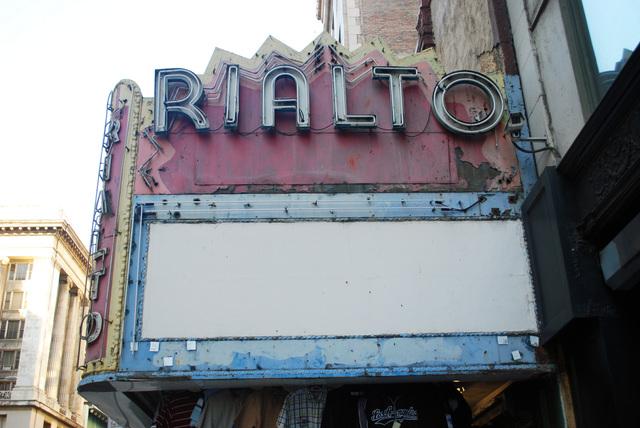 Rialto Theater Marquee