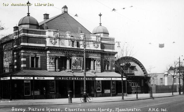 Savoy Cinema Chorlton-cum-Hardy 1926