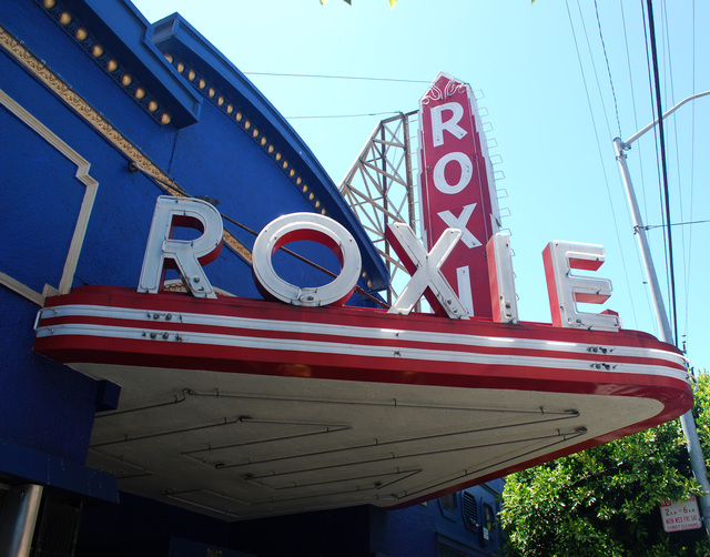 Roxie Cinema Marquee