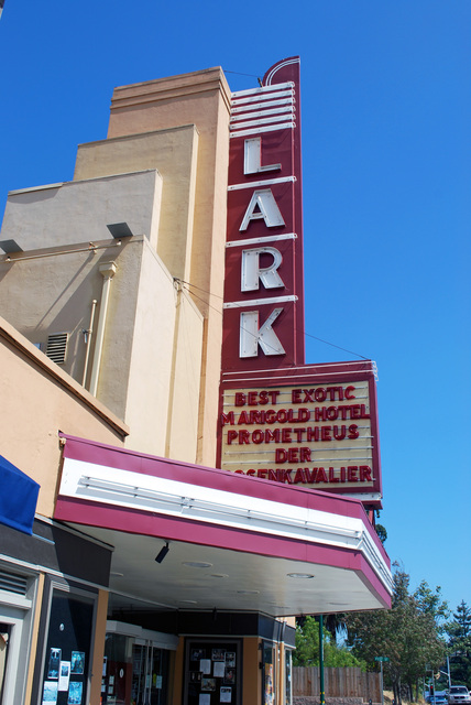 Lark Theater Sign