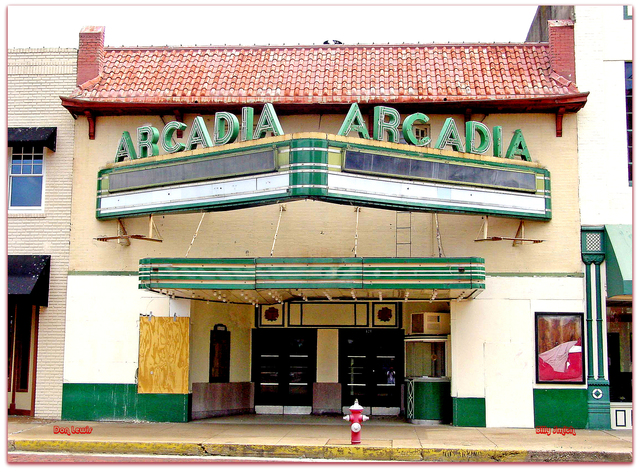 Arcadia Theatre© Tyler TX...Don Lewis / Billy Smith