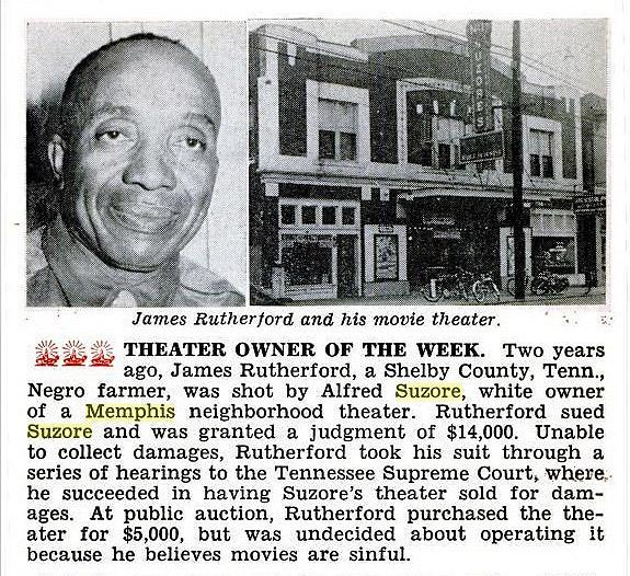 1952 article Jet Magazine.   Judgement against Alfred Suzore