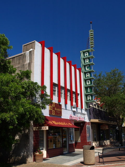 Arcadia Theater  Facade- June 2011