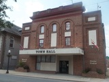 The Federal Theatre now Town Hall Federalsburg, Md