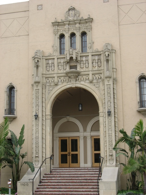 Ebell Theater Entrance and Facade