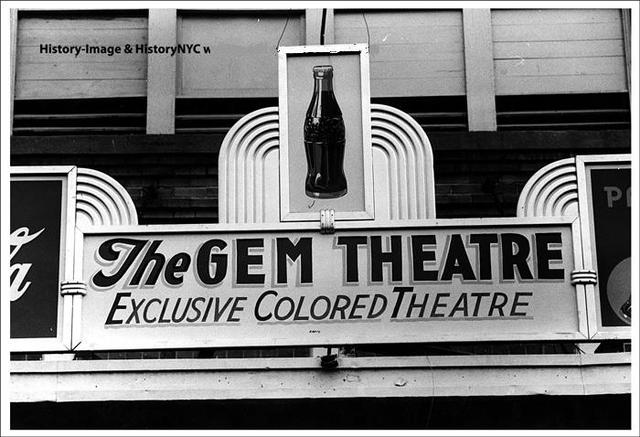GEM Theatre, Waco, Texas.