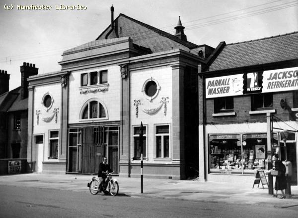 Palace Cinema Chorlton-cum-Hardy 1958