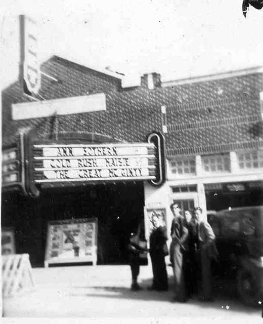 Sunset Theater around 1940