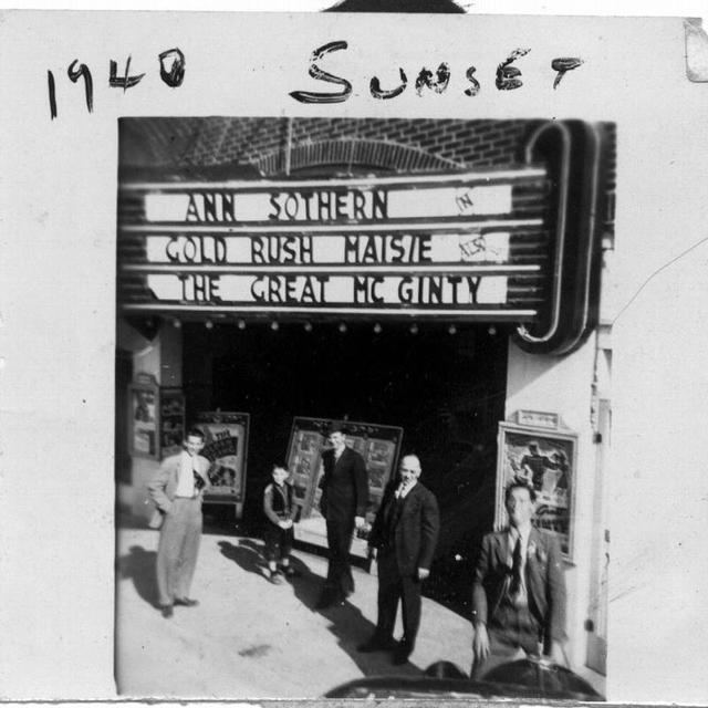 Sunset Theater--1940