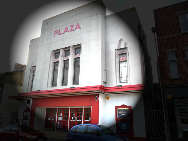 Plaza Cinema Exterior - Winter 2010