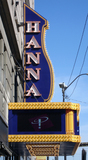 Hanna Theatre, Cleveland, OH - marquee & vertical sign
