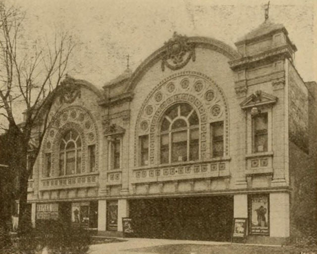Duplex Theatre, Detroit, Michigan, 1916