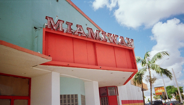 Marquee of Former North Miami Theatre