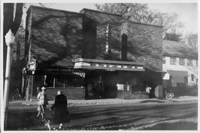 The Bristol Theatre circa late '50s