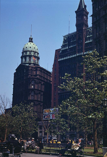 The Tribune Theatre in color 1941