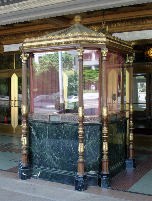Ohio Theatre, Columbus, OH - ticket booth