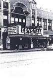 <p>Only known photo of the Crystal Theater taken in 1951.               Submitted by Jim Curtis.</p>