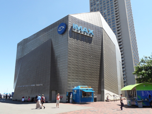 Simons IMAX Theatre at the New England Aquarium