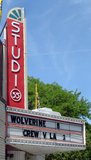 Studio 35 Cinema, Columbus, OH - marquee & vertical sign