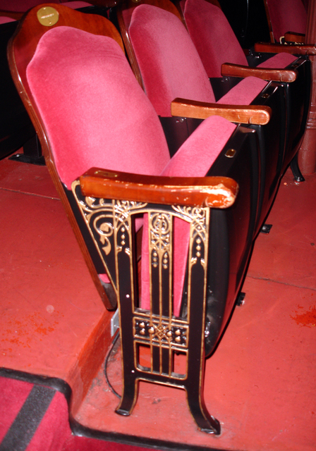 Grand Opera House, Wilmington, DE - seats