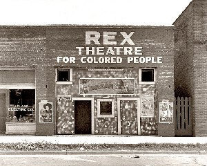 REX Theatre, Leland, Mississippi, June 1937