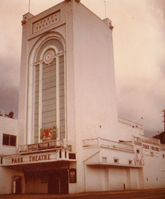 The Historic Park Theatre - Jaws Premiere 1975