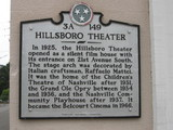Historic marker of Hillsboro/Belcourt Theatre