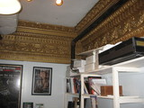 1925 plaster detail visible in upstairs office August 2012