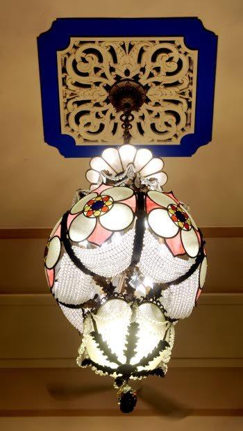 Victor Pearlman chandelier, GATEWAY Theatre, Kenosha, Wisconsin (2012)