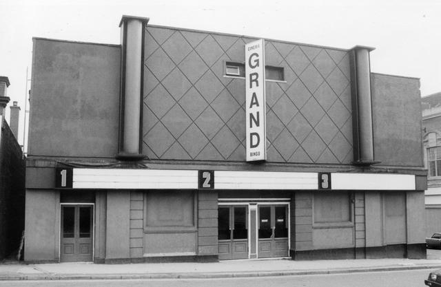 Grand cinema, Leek. Photo by Keith Davis
