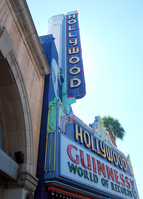 Hollywood Theatre Sign