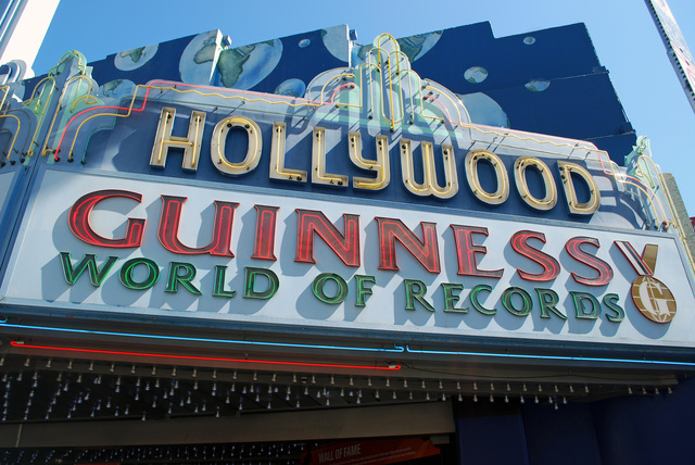 Hollywood Theatre Marquee