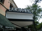 <p>The stand alone neon-lined letters atop The Lansdowne's marquee are back! The originals were removed in the late 1960s/early 70s and stored in the theater's attic.  They were used to refabricate new letters and installed in August 2012 as part of the full restoration of the marquee.  Look for a re-lighting ceremony at The Lansdowne in early October.</p>