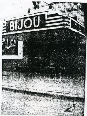 BIJOU Theatre, Monmouth, Illinois, 1950