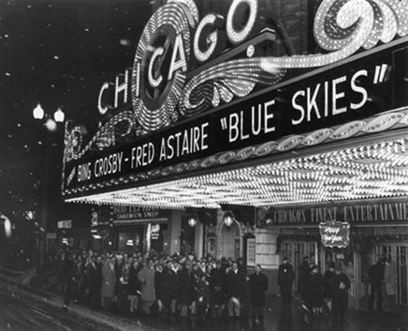 CHICAGO Theatre, Chicago, Illinois.