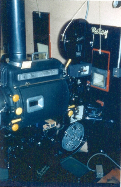 Grant Theatre Projection Booth