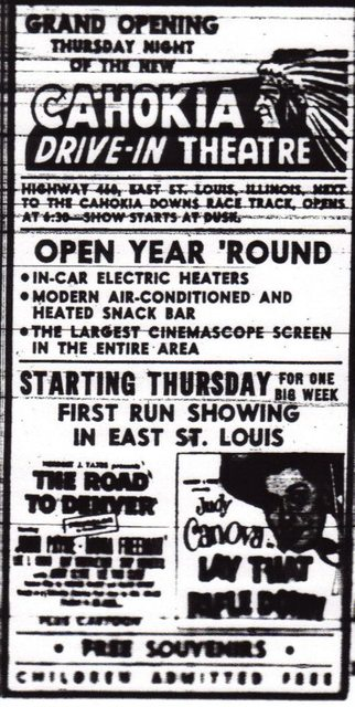 Opening night ad