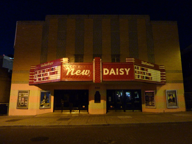 New Daisy Theatre in 2011 at Night