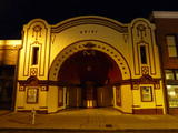 Old Daisy Theatre in 2011 at Night