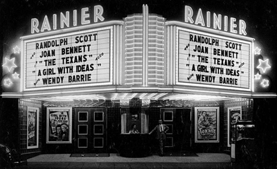 RAINIER Theatre, Renton, Washington (1938)
