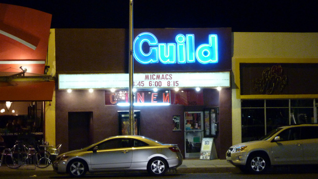 Guild Cinema - November, 2010 at Night