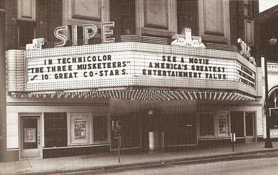 The Sipe Theater Aprox 1948