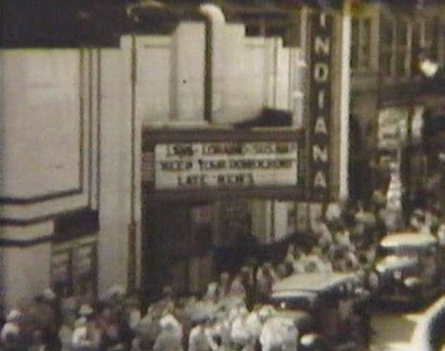 Indiana Theater Aprox 1945