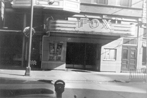 The Fox Theater Aprox 1961